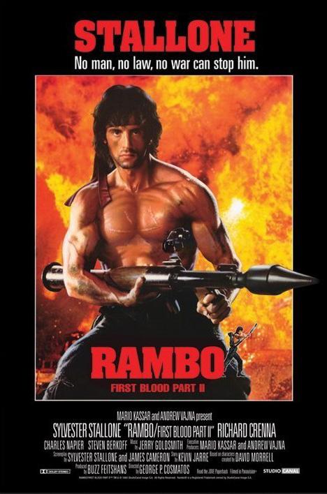 Just Finished Watching Rambo First Blood Part Ii 1985 And Rambo Iii 1988 The Blog Of Igor Boyar